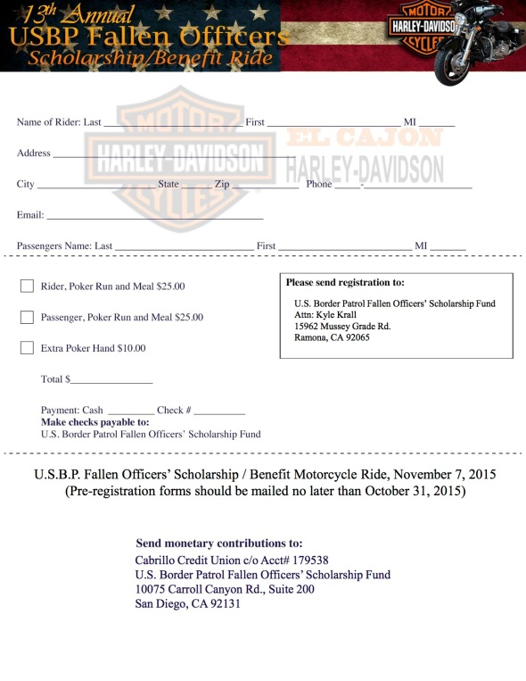 Fallen Officers ride 20015Reg-form-2(b)