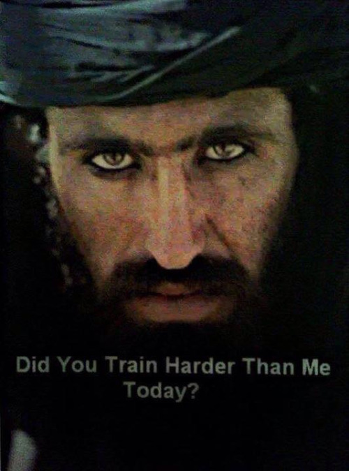 Did you train harder?